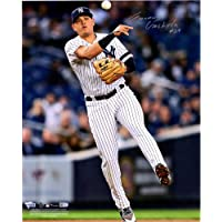 """Gio Urshela New York Yankees Autographed 16"""" x 20"""" Throwing Photograph - Fanatics Authentic Certified photo"""