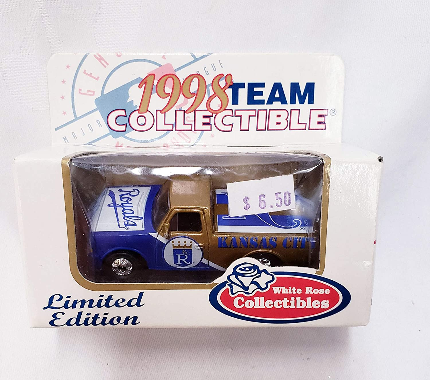 Kansas City Royals 1998 Limited Edition Ford F-150 Pick Up Truck Die Cast Collectible
