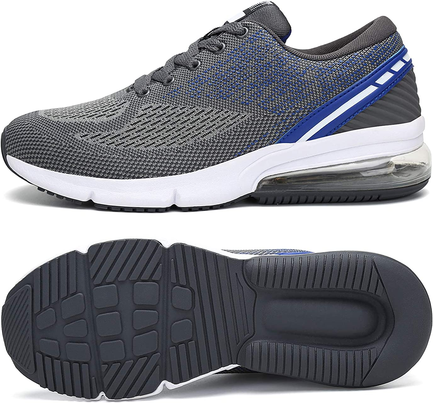 APTESOL Running Shoes Men Light Weight Sport Sneakers with Air Cushion for Men's Cross-Training Road Running