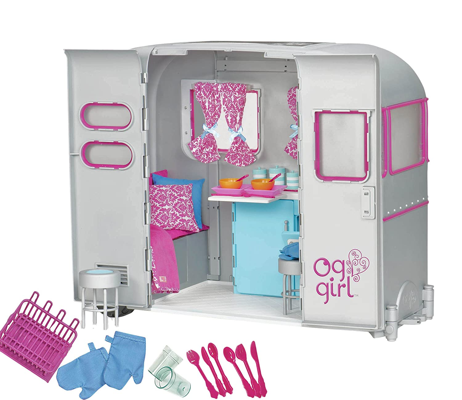 Amazon Our Generation R V Seeing You Camper Accessory Set