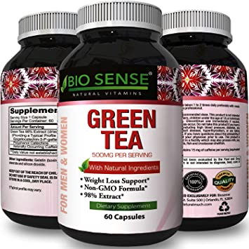Amazon Com Pure Green Tea Extract Capsules Weight Loss Diet Pills