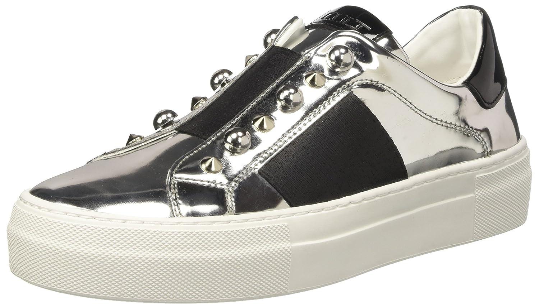 Cult Love Low 1438, Sneaker a Collo Multicolore Basso Donna Multicolore Collo (Silver/Black) cda0bc