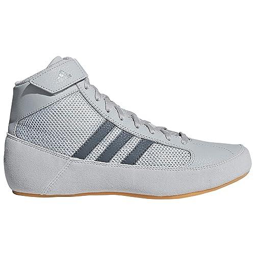adidas Scarpe da Pugilato Uomo, Grigio (Grey), 31,5 EU Bambino