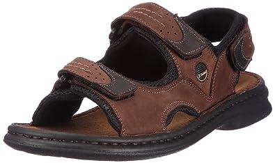 bd66eea94d0b Josef Seibel Men s Franklyn Sling Back Sandals  Amazon.co.uk  Shoes ...