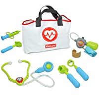 Kidzlane Play Doctor Kit for Toddlers and Kids - Kids Doctor Play Set - 7 Piece...