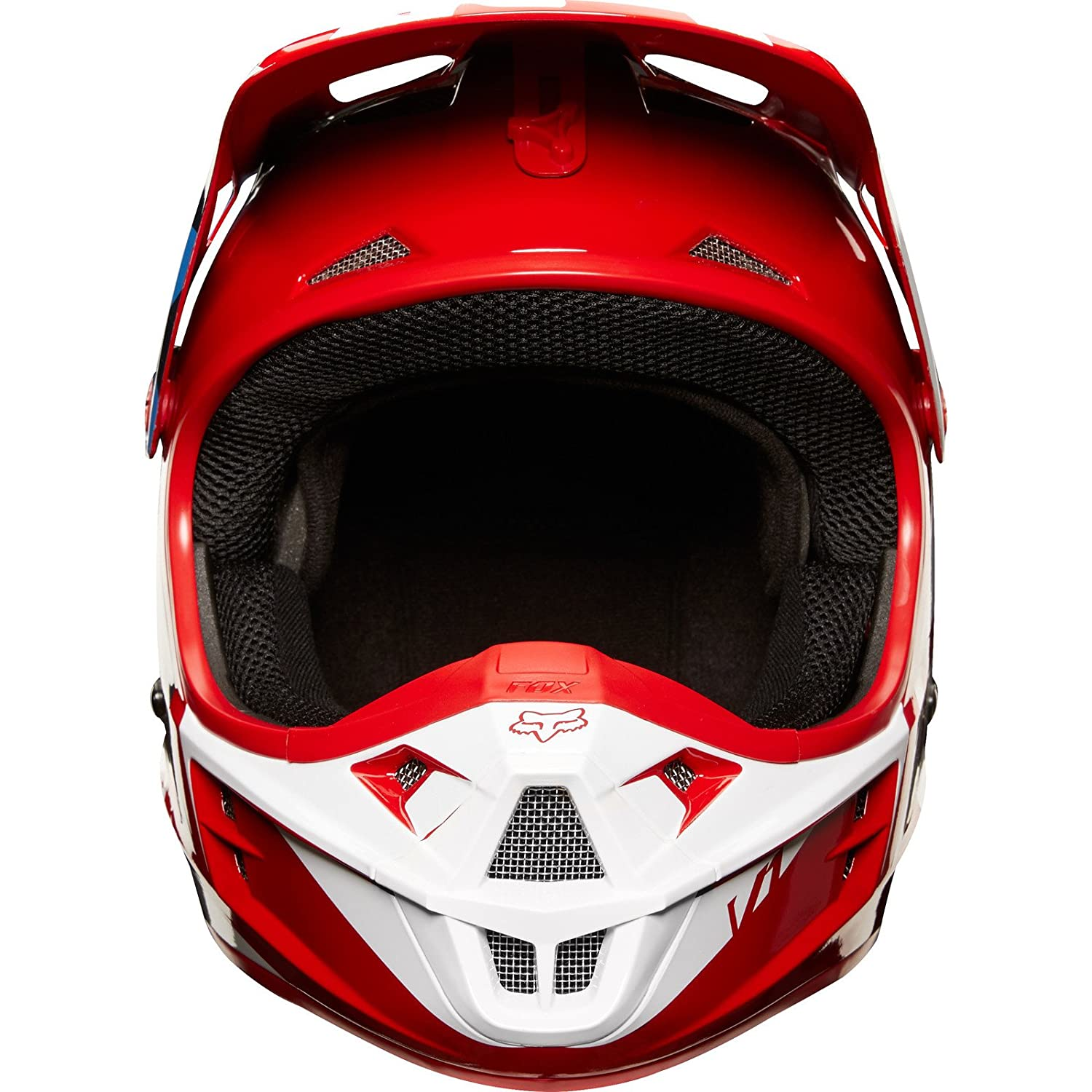 Fox Helmet V-1 Race Gr/ö/ße S Green
