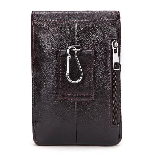 cicongzai Cartera de Cuero Vintage Primera Capa de Aceite Cera Bolsillos para Hombres Use un cinturón, Bolso de teléfono, Macho: Amazon.es: Zapatos y ...