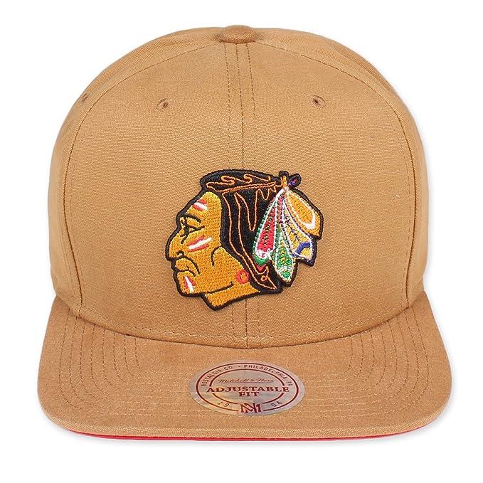 bd260f7286c0f Mitchell   Ness - Gorra de béisbol - para hombre Chicago Blackhawks talla  única