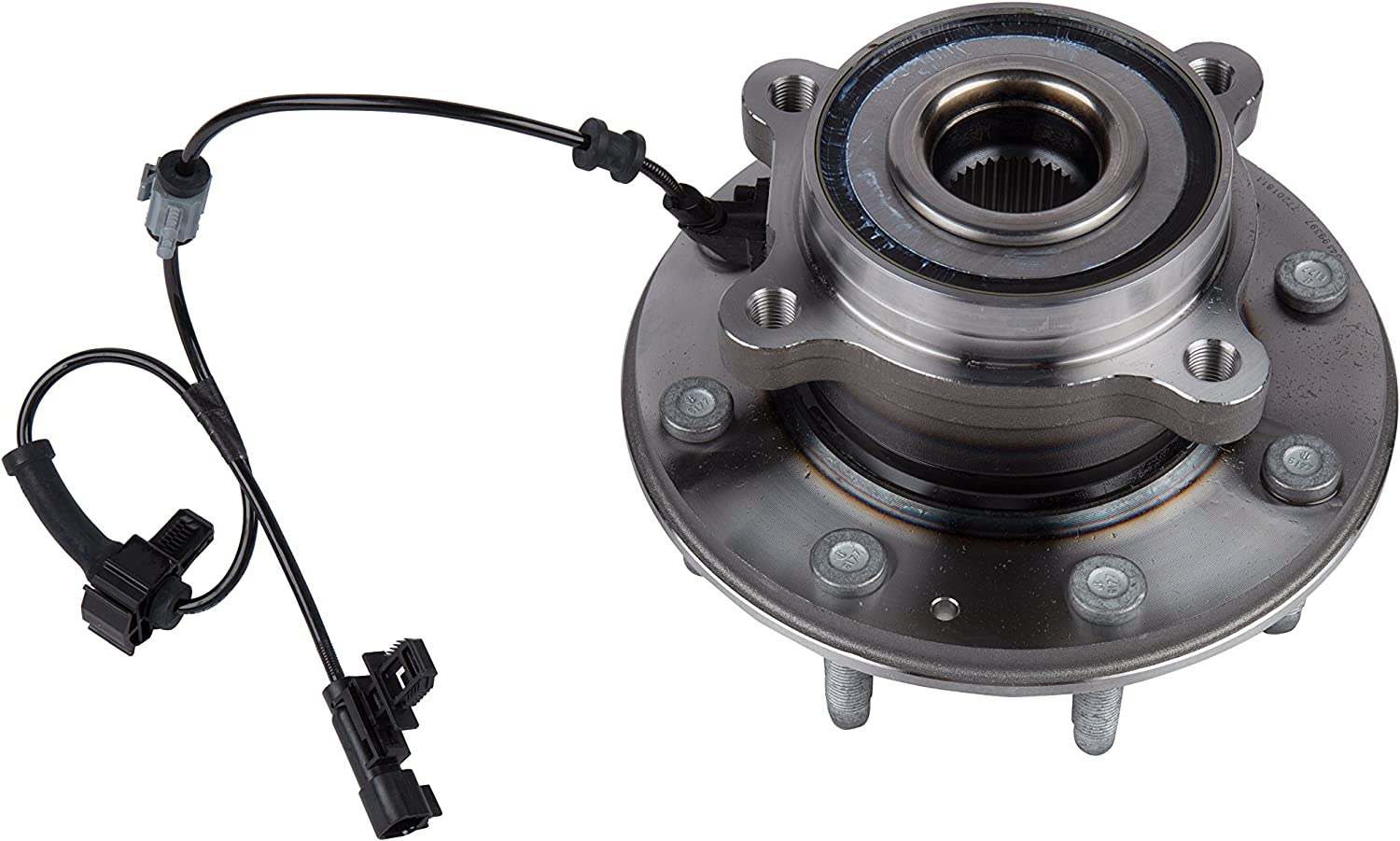 ACDelco FW333 GM Original Equipment Front Wheel Hub and Bearing Assembly with Wheel Speed Sensor and Wheel Studs