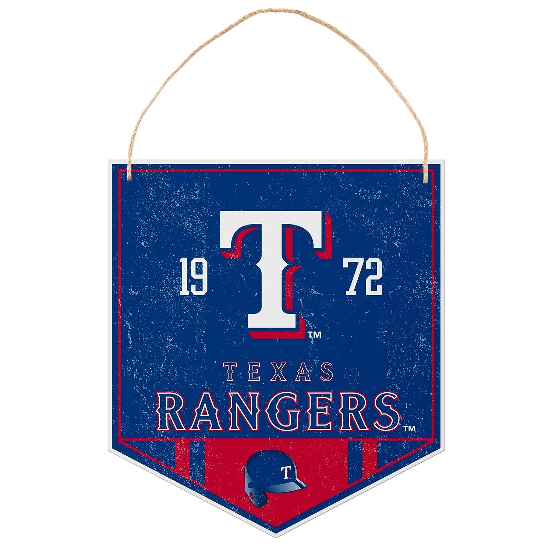 Texas Rangers Metal Garden Sign