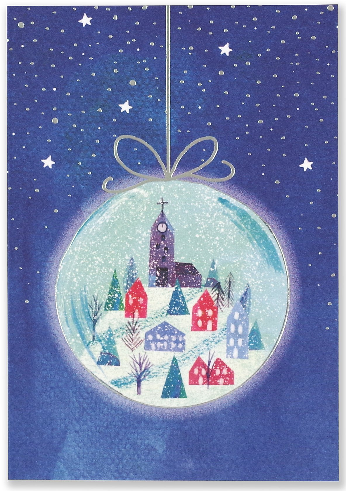 Download Village Ornament Small Boxed Holiday Cards (Christmas Cards, Greeting Cards) pdf