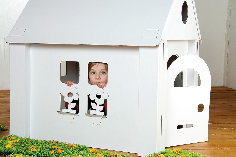 Casetta Di Natale Da Colorare : Calafant casetta per giochi da costruire e colorare amazon