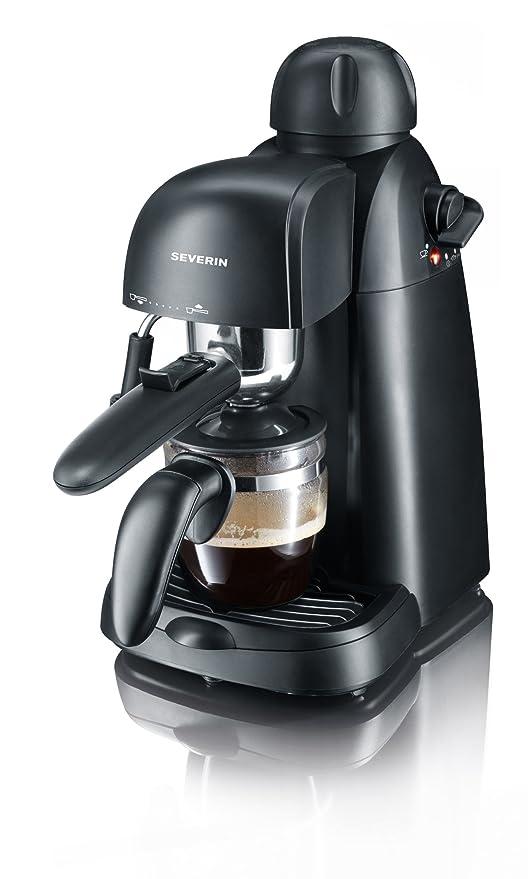 Severin Cafetera Espresso 800 W 4 tazas de café. Presión de 3,5 ...
