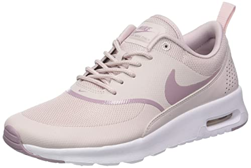 a7a41a1ff153 Nike Women s s Air Max Thea Gymnastics Shoes Pink (Barely White Elemental  Rose 612)