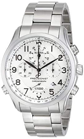 92b371f2a Image Unavailable. Image not available for. Color: Bulova Men's 96B183 Precisionist  Chronograph Watch
