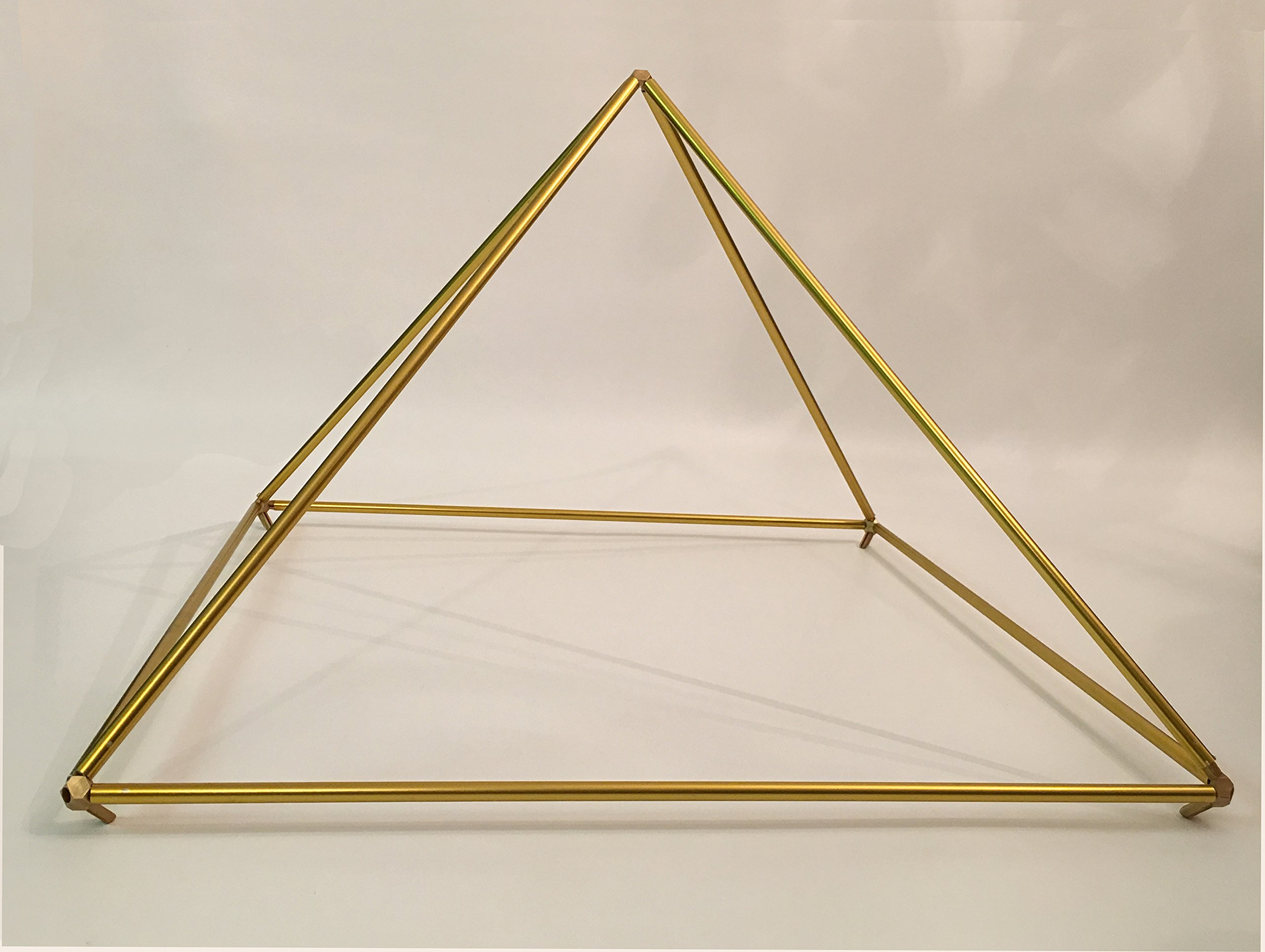 25'' Gold-Anodized Titanium Pyramid Frame Kit from Nick Edwards' Pyramid Planet by Nick Edwards Pyramid Planet (Image #1)