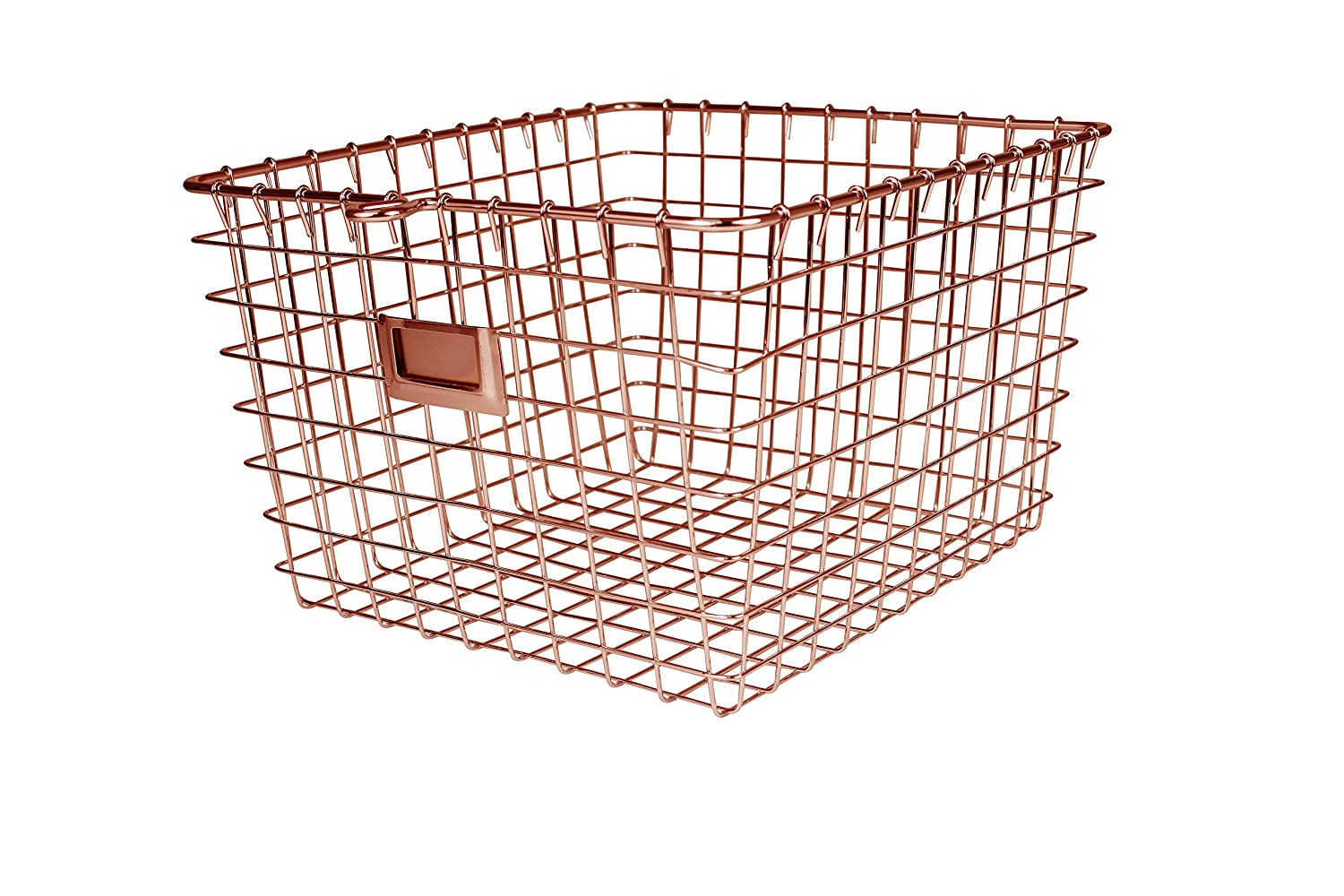Spectrum Diversified Wire Storage Basket, Small, Chrome 47870