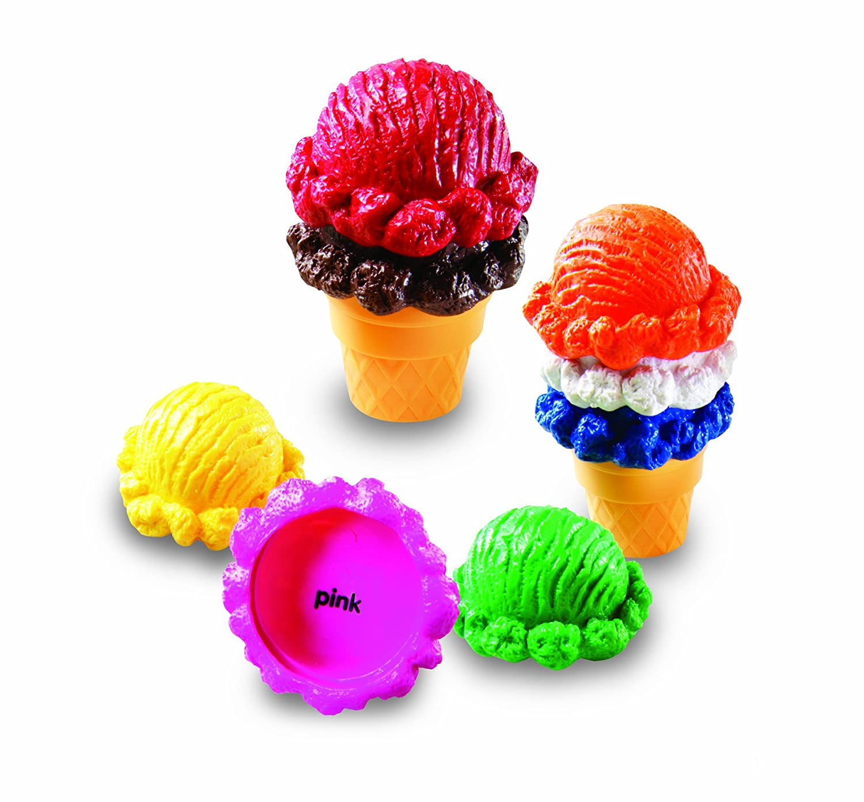 Learning Resources Smart Snacks Rainbow Colour Cones: Amazon.co.uk ...