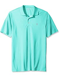 e8b50855e Izod Mens Big and Tall Golf Grid Short Sleeve Polo Golf Shirt