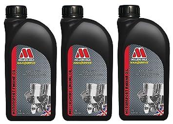 Millers CSS 20W60 Motorsport - Aceite Semi sintético para Motor, 3 ...