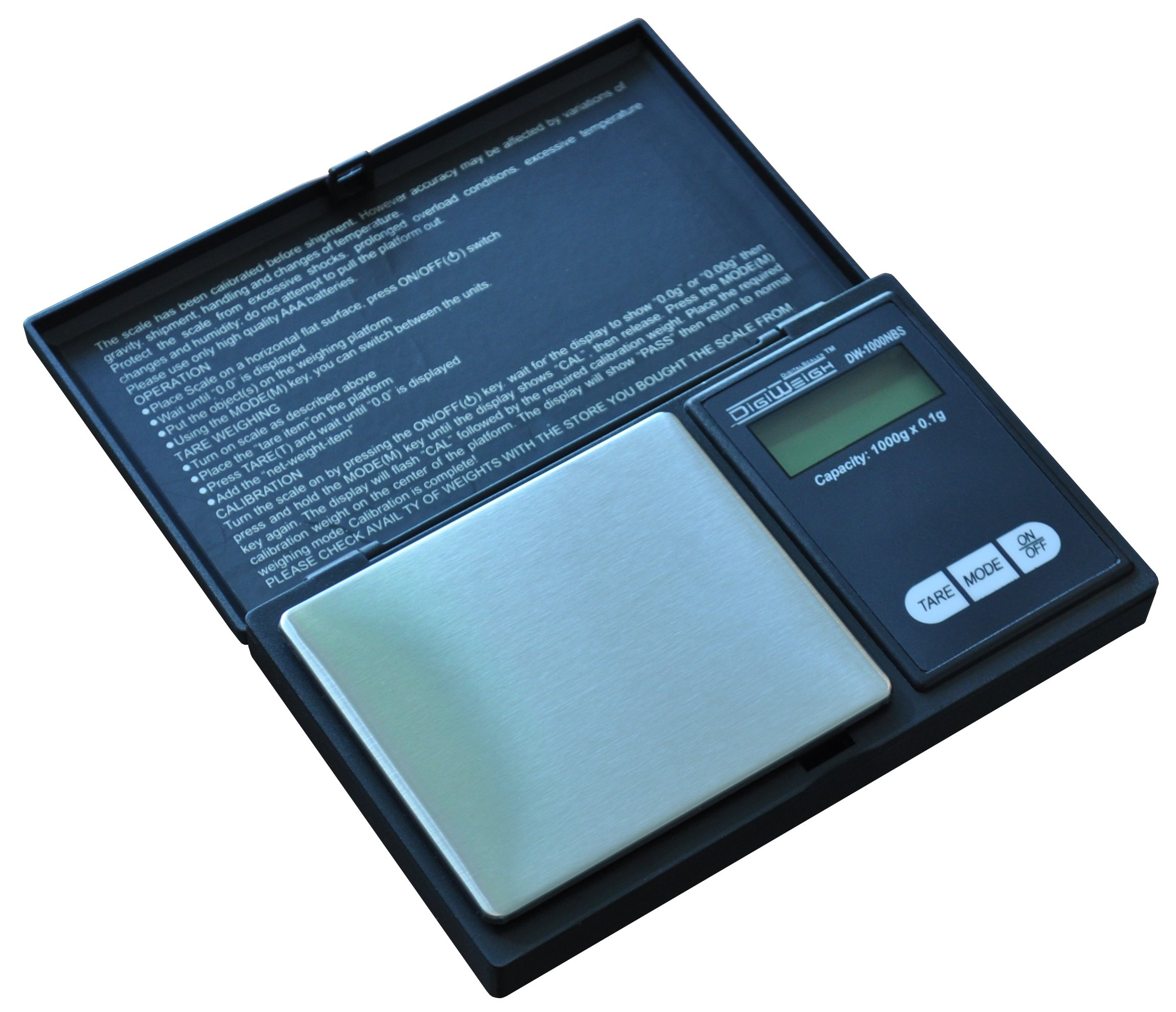 DIGIWEIGH 1000g/0.1g Pocket Scale (DW-1000NB)
