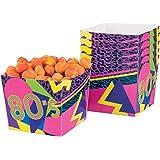 Boland 44609–Set de 6Bols années '80, multicolore