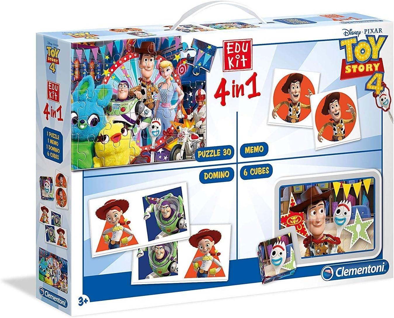 Clementoni - Edukit 4 En 1 Toy Story 4 (18058)