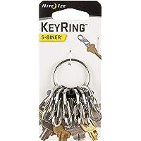 Nite Ize KRGS-11-R3 Key Ring, Stainless Steel