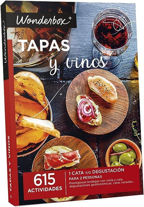 WONDERBOX Pack Experiencia Gastronomía Tapas y Vinos: Amazon.es: Deportes y aire libre