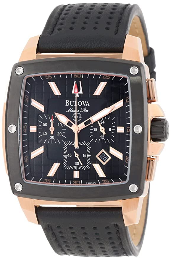 Bulova Men's 98B103 Marine Star Calendar Watch Review