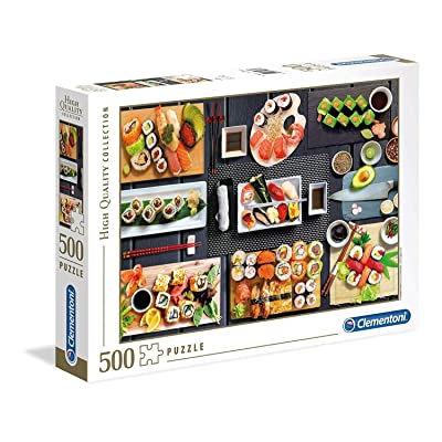 Clementoni 35064 35064 Collection Puzzle-Sushi-500 Pieces, Multi-Coloured: Toys & Games