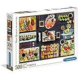 Clementoni Adult Puzzle The Sushi, Multi-Colour, 500 Pieces