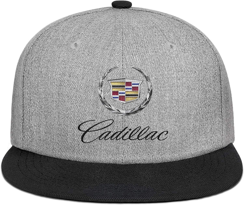 Black Summer hat Womens Mens Breathable Cadillac-Emblem-Symbol-Logo