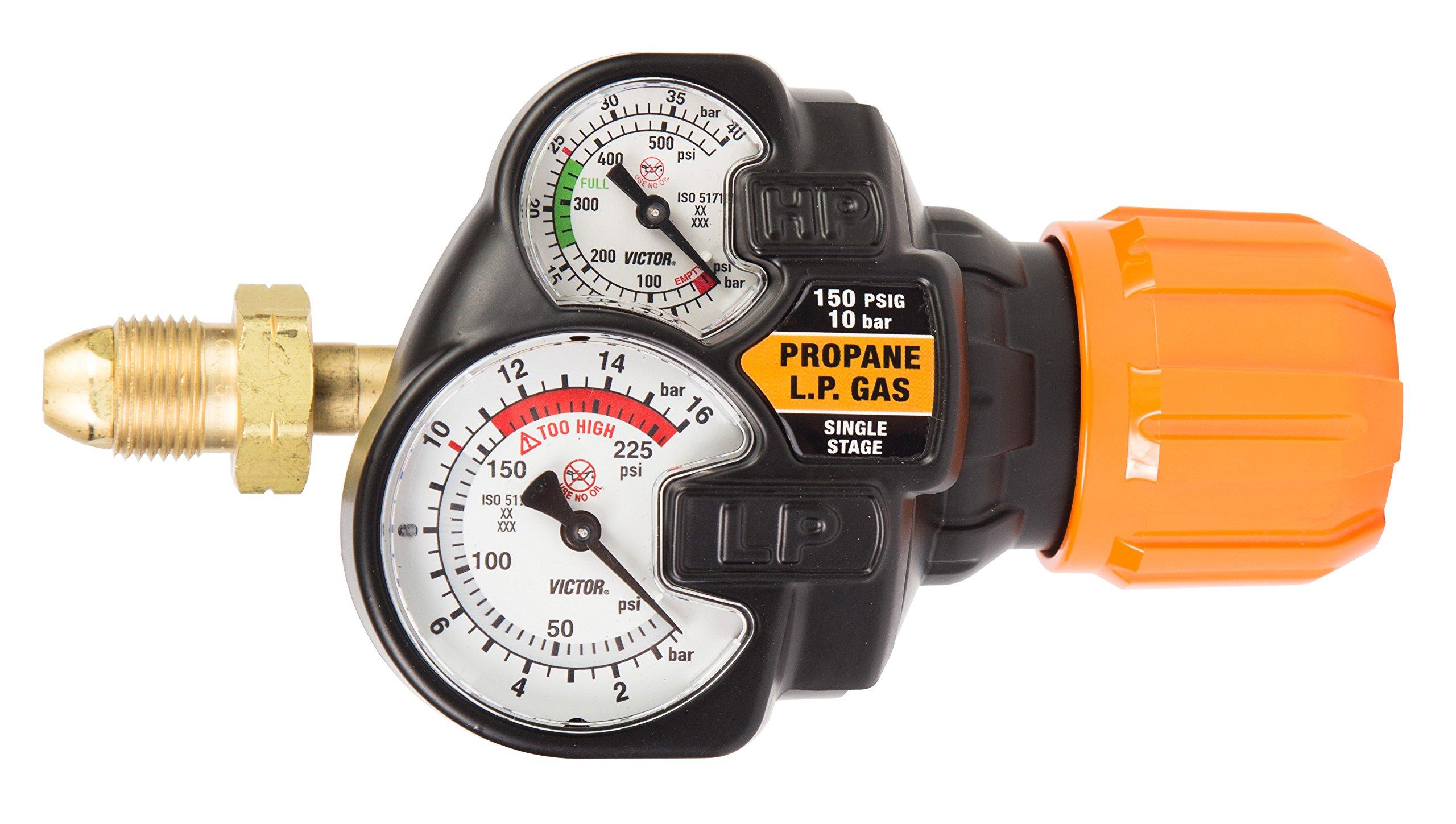 Victor 0781-3607 Series Edge 2.0 ESS42-150-510LP Regulator, LP Gas