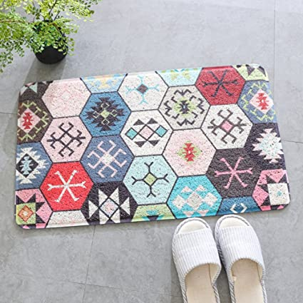 GUOSHIJITUAN Anti Slip Bead Lobby Floor MatsDoormat For Living Room Bedroom Balcony Plastic Carpet