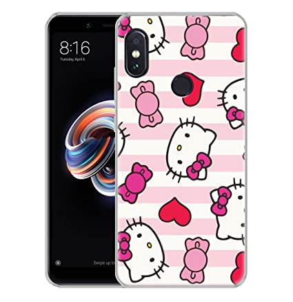 best authentic db392 22afd Fashionury Redmi Note 5 Pro Back Case Cover/Redmi Note 5 Pro Back Cover  Stylish 360 Protection/Redmi Note 5 Pro Back Cover Printed Soft [for Girls  & ...