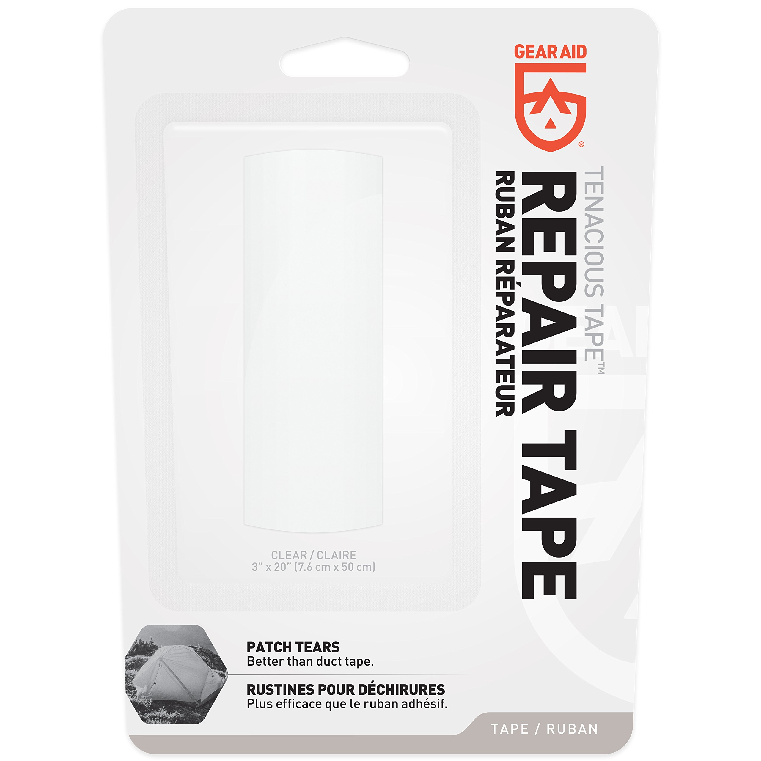 """Gear Aid Tenacious Tape Repair Tape for Fabric and Vinyl, 3"""" x 20"""" by Gear Aid (Image #2)"""