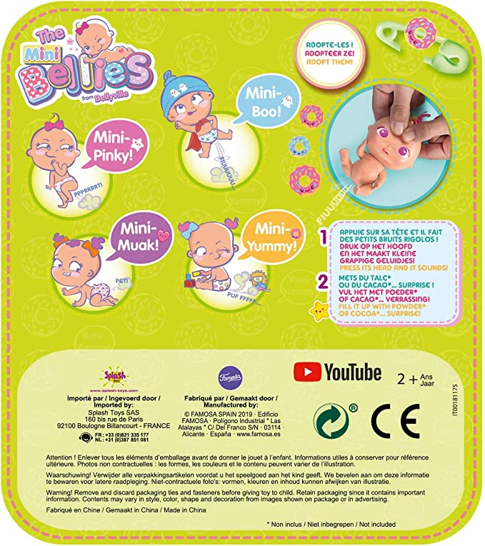 Amazon.es: The Bellies - Mini Yumi-Yummy (Famosa 700015202 ...