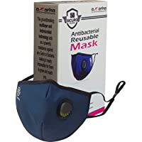5D SICURO With International Material Certification. ANTI BACTERIAL/RE-USEABLE (Medium, Blue)