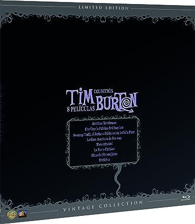Tim Burton Colección Vintage Funda Vinilo Blu-Ray Blu-ray: Amazon ...
