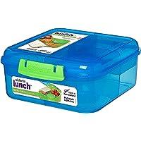 Sistema To Go-Bento Box mit Frucht-/Joghurt-Topf, rechteckig, 1,25l