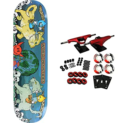 "World Industries Skateboard Complete Cats 8.25"" : Sports & Outdoors"