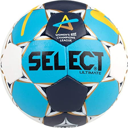 SELECT Ultimate Mujer cl Women de Balonmano, Color Azul Marina Oro Amarillo, 2
