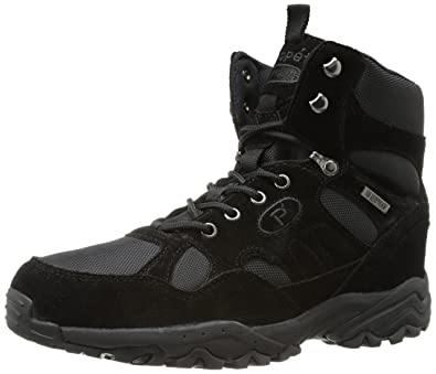 Propet Men's Camp Walker High Boot,Black Suede,7 ...