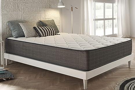 Moonia - Colchón Viscoelástico 110X190CM - Colchón de Alta Durabilidad - Colchón Antiacaros - Grosor +/- 30 cm - Modelo Grand Royal Lux