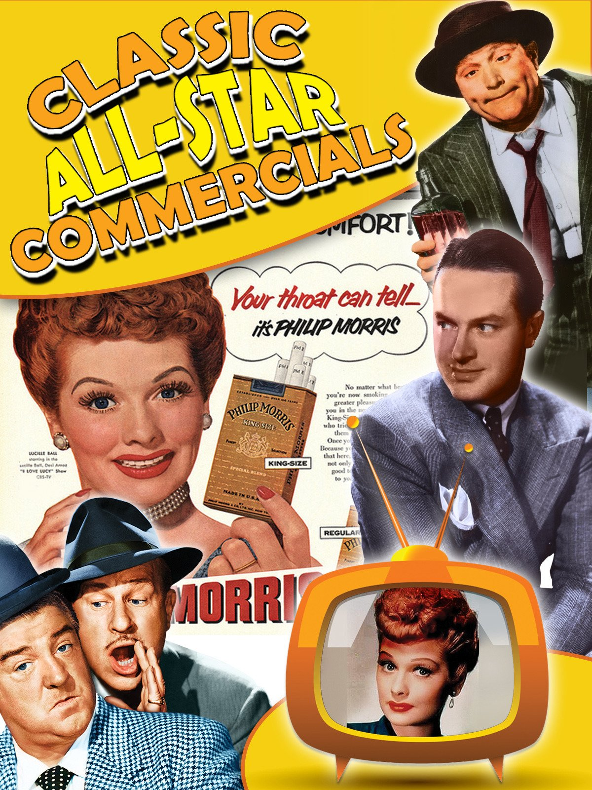 Amazon.com: Classic All-Star Commercials: Lucille Ball, Desi Arnaz ...