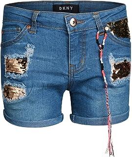 Amazon.com: WallFlower - Bermudas para niña: Clothing