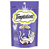Temptations Cat Treat Creamy Dairy 85G Bag, 6 Count