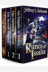Runes of Issalia Bonus Box Set: A Complete Progression Fantasy Series (Issalia Omnibus Book 1) Kindle Edition