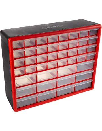 Storage Drawers-44 Compartment Organizer Desktop or Wall Mountable  Container for Hardware 4220e7478